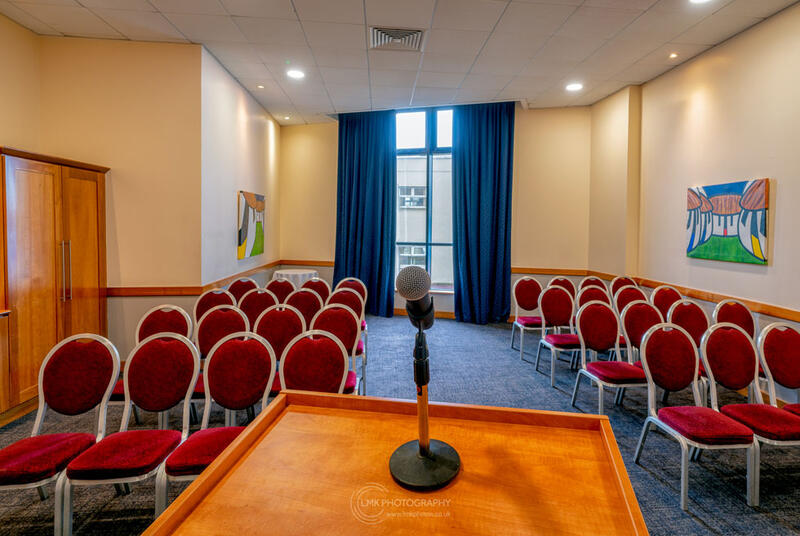 City Hotel Derry The Mc Corkell Suite Seating Layout