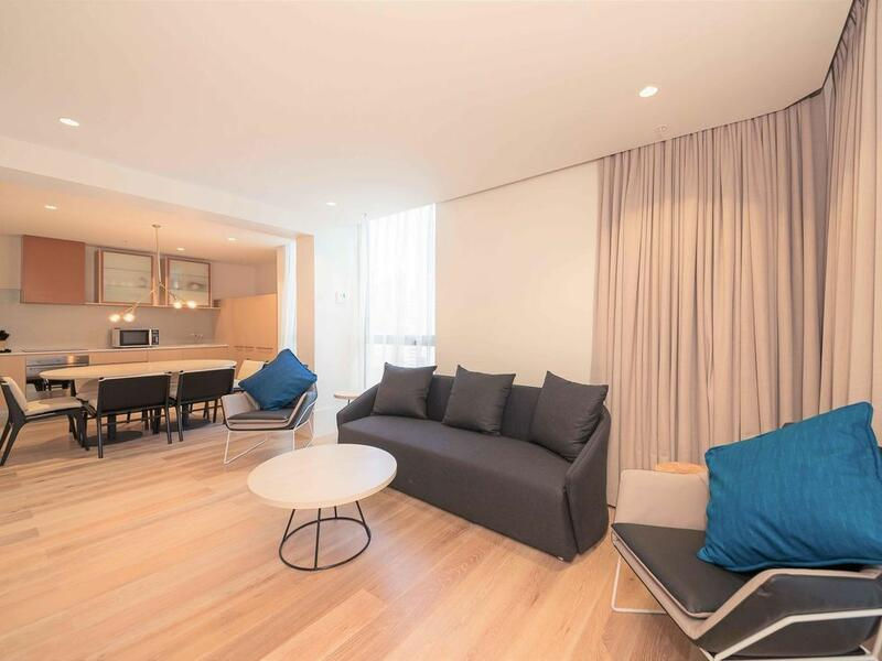 2 bedroom executive living area at Brady Hotels Central Melbourn