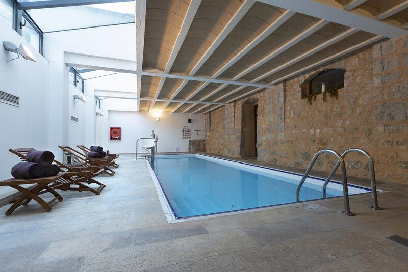Spa pool at Gran Hotel Sóller in Sóller, Majorca