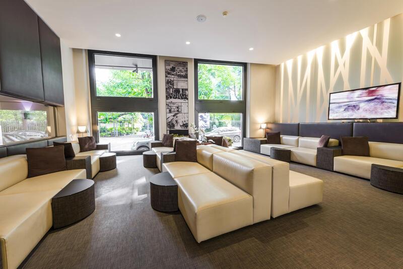 Lounge at Manin Hotel Milano