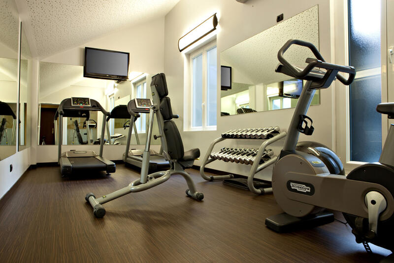 Gym at Manin Hotel Milano