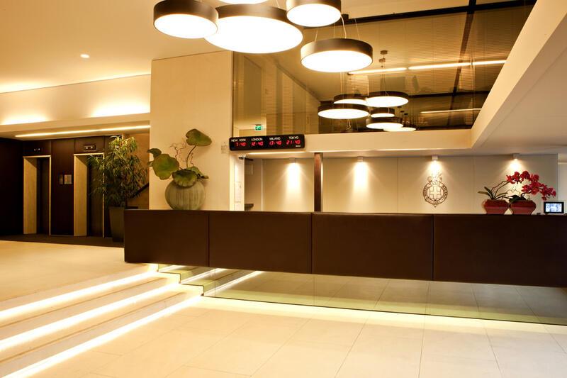 Reception at Manin Hotel Milano