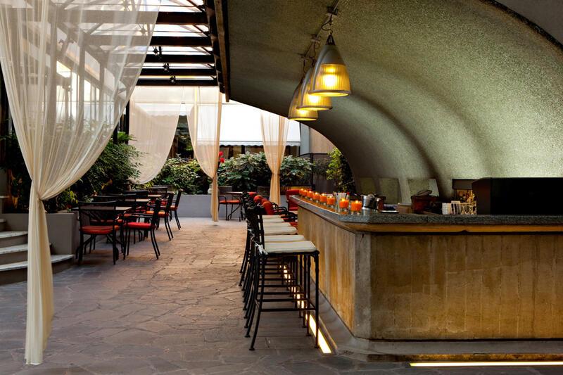Bar at Manin Hotel Milano