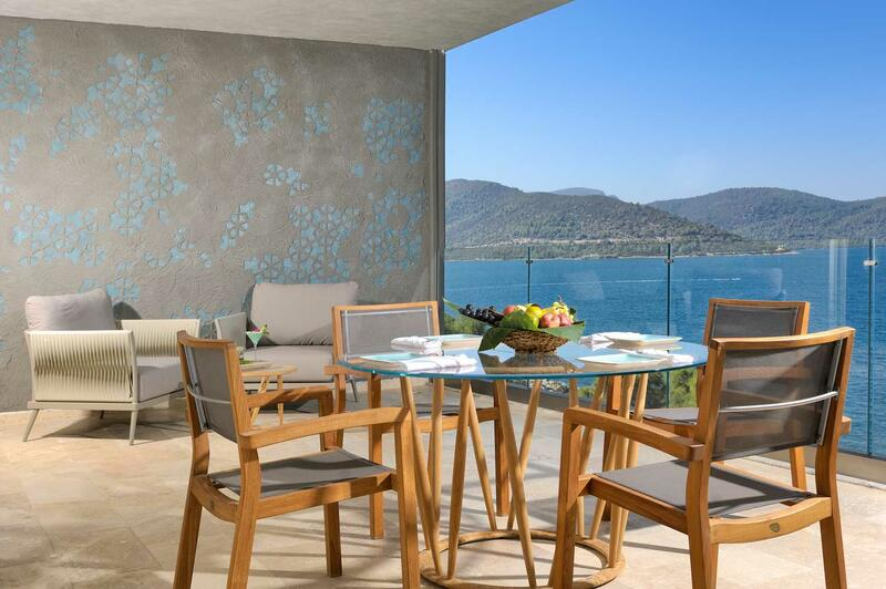 Presidential Suite at Sarpedor Boutique Beach Hotel in Bodrum, T