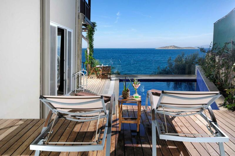 Pool Suite at Sarpedor Boutique Beach Hotel in Bodrum, Turkey