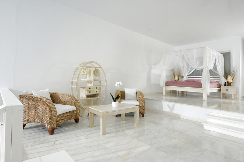 Junior Suite at Sarpedor Boutique Beach Hotel in Bodrum, Turkey