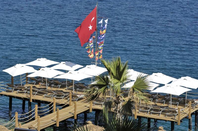 Facilities at Sarpedor Boutique Beach Hotel in Bodrum, Turkey