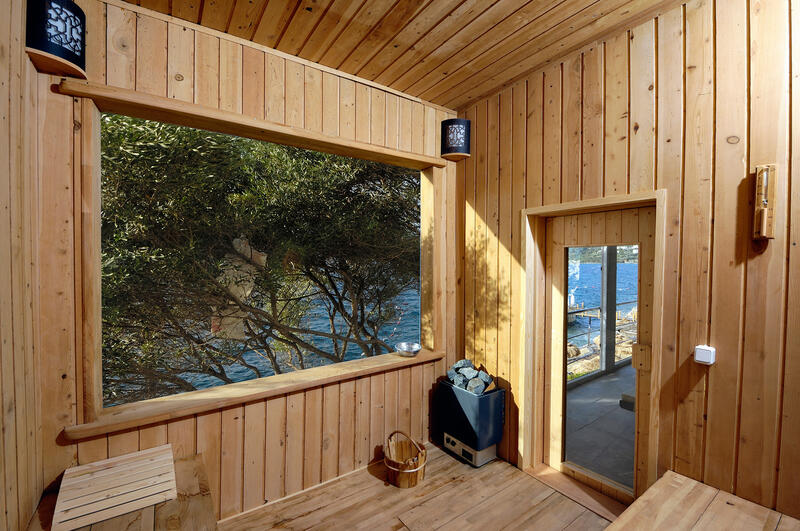 Sauna at Sarpedor Boutique Beach Hotel in Bodrum, Turkey