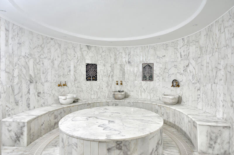 Hammam at Sarpedor Boutique Beach Hotel in Bodrum, Turkey