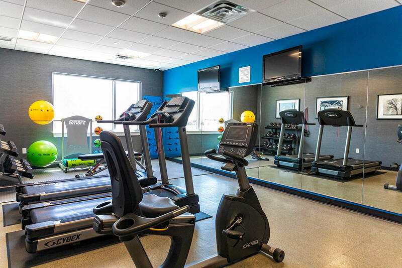 treadmills in a gym area