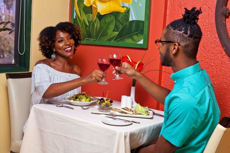 Melting Pot Restaurant Couple