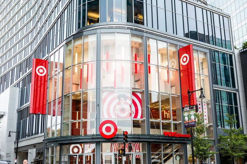 Super Target Downtown Boston Exterior