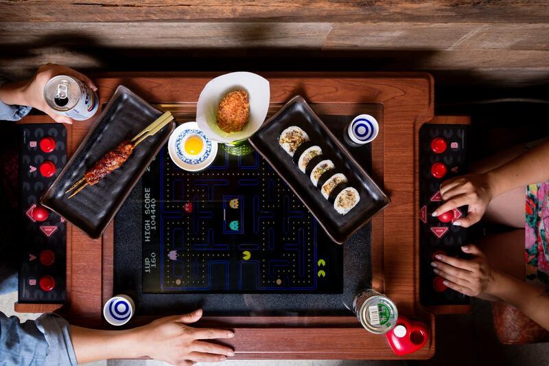 Pac Man Table at Hojoko