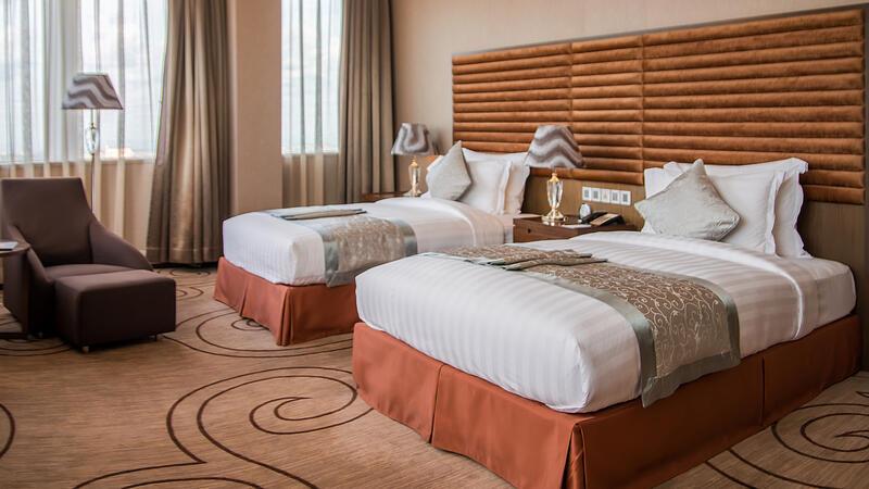 Twin Room at Fleuve Congo Hotel Hotel in Kinshasa