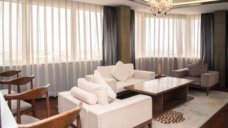 Diplomatic Suite at Fleuve Congo Hotel Hotel in Kinshasa