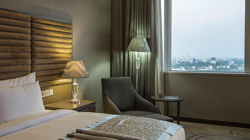 Superior room at Fleuve Congo Hotel Hotel in Kinshasa