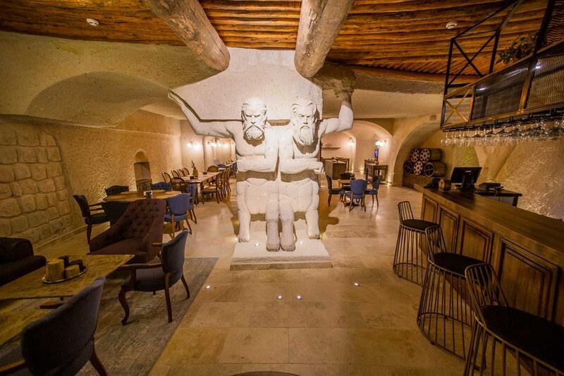 Restaurant at Anka Cave Suites in Cappadocia,Turkey