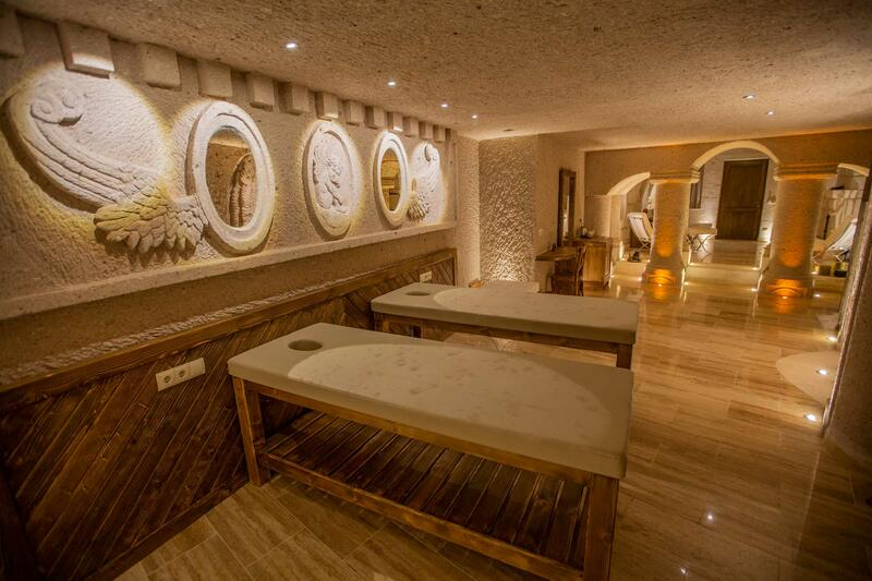 Wellness center at Anka Cave Suites in Cappadocia,Turkey