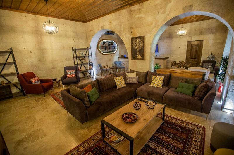 Lobby at Anka Cave Suites in Cappadocia,Turkey