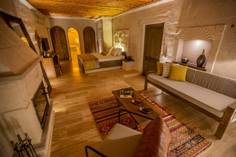 Imperial cave suites at Anka Cave Suites in Cappadocia,Turkey