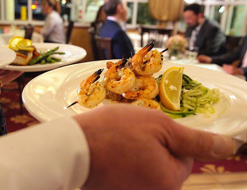 Shrimp platter.