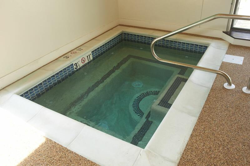 Hot Tub next to Indoor Pool