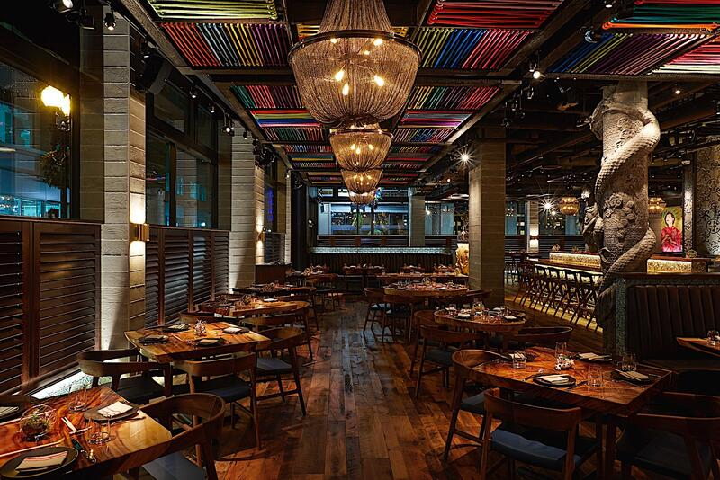 RUKA Restobar Dining Room Interior