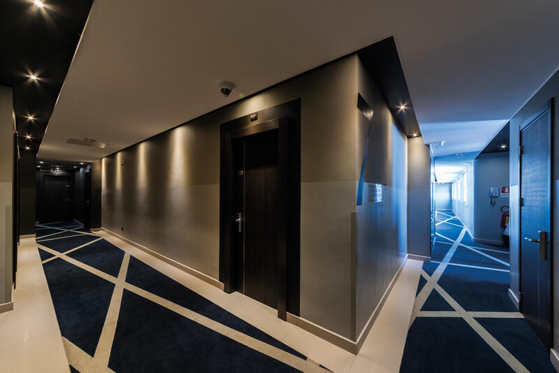 Corridor at Manin Hotel Milano