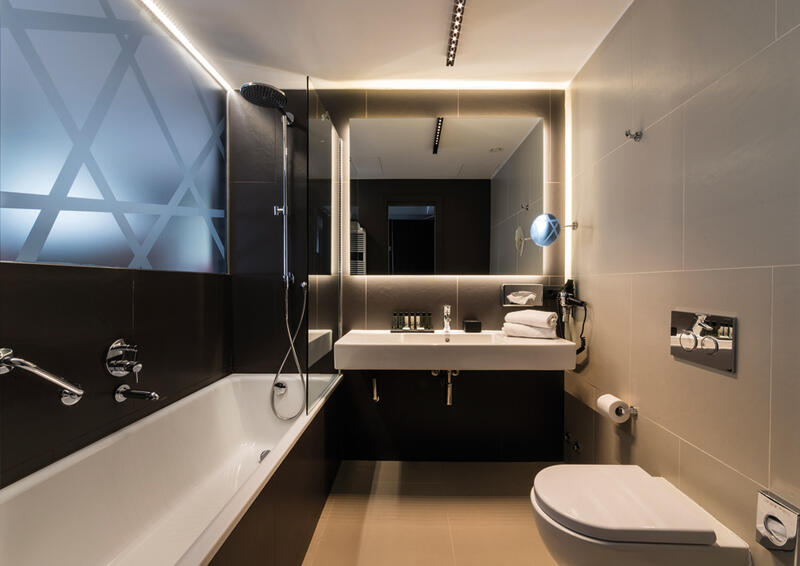Bathroom at Manin Hotel Milano