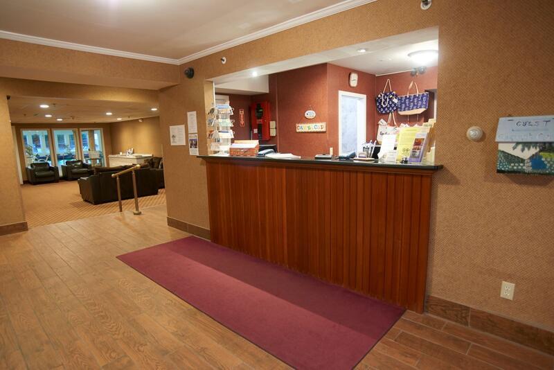 Sandwich Lodge Front Desk