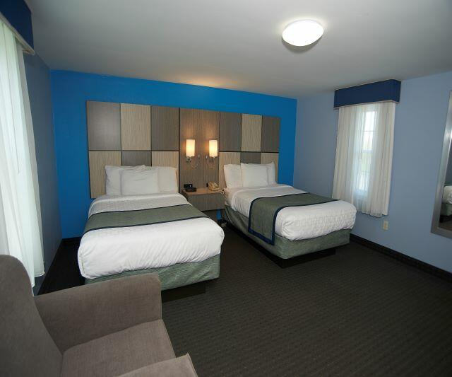 Two Queen Beds in One Room Suite