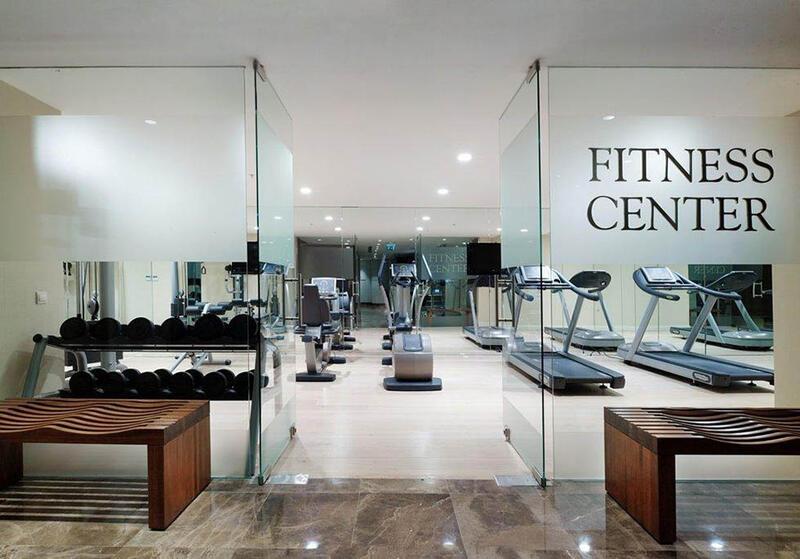 Fitness center at CVK Taksim Hotel in Istanbul