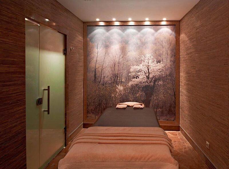 Massage room at CVK Taksim Hotel in Istanbul
