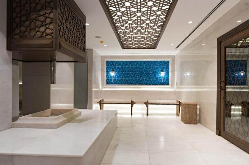 Spa at CVK Taksim Hotel in Istanbul