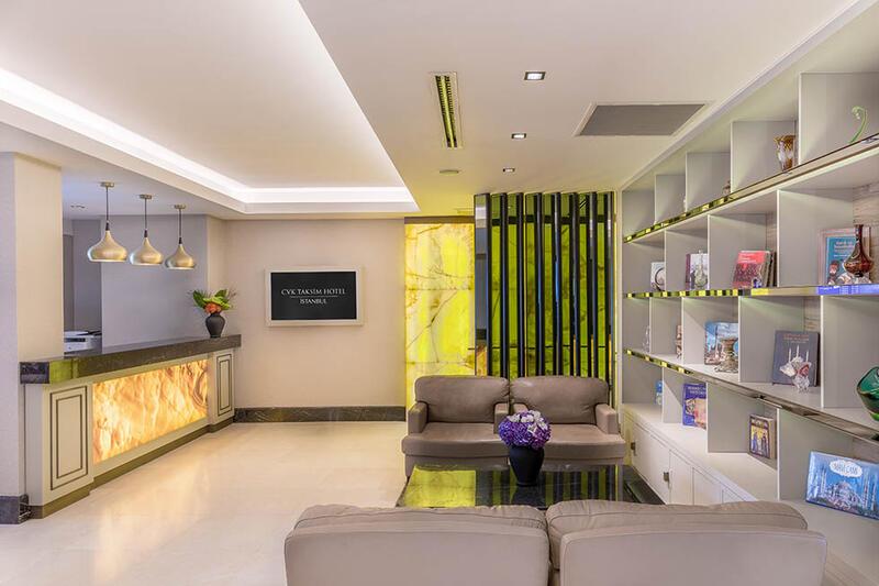 Lobby & Reception at CVK Taksim Hotel in Istanbul