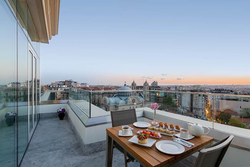 Taksim Terrace Suite at CVK Taksim Hotel in Istanbul