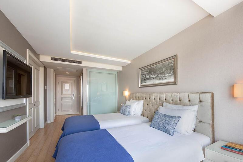 Deluxe Taksim Square View Room at CVK Taksim Hotel in Istanbul