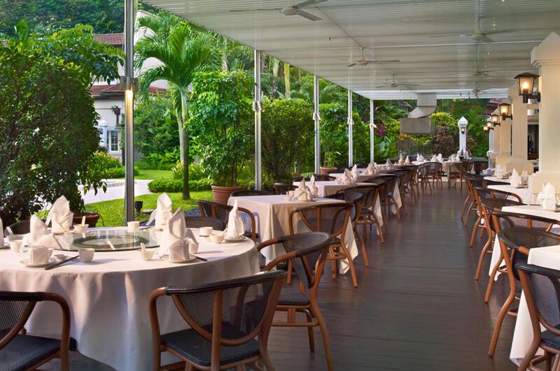 Min Jiang Alfresco Dining - Goodwood Park Hotel Singapore