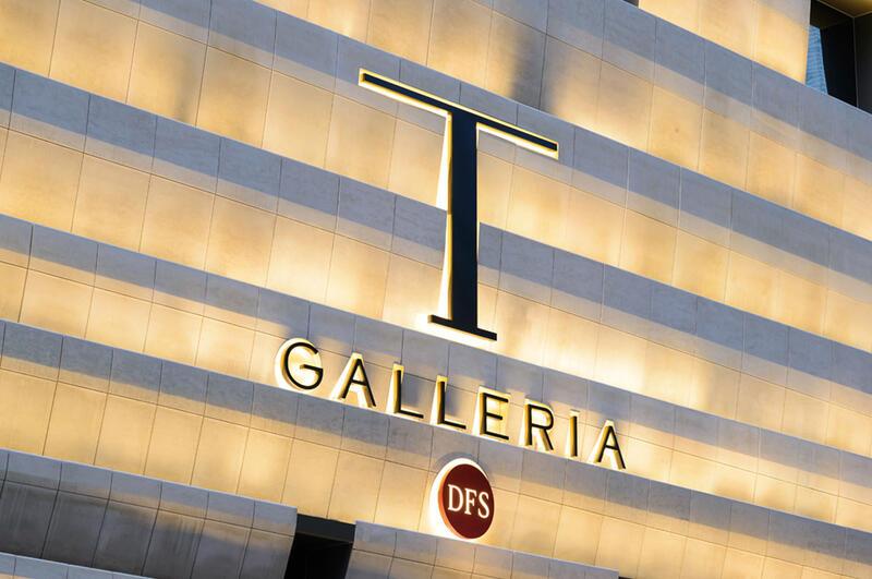 T Galleria Singapore Facade
