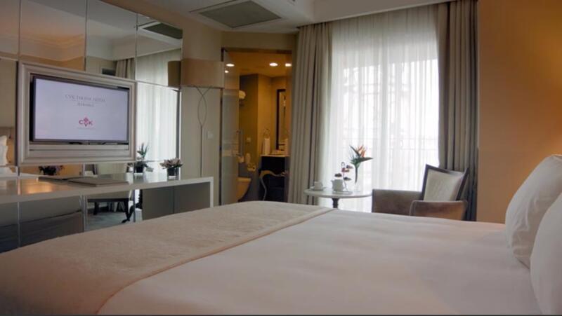 Room at CVK Taksim Hotel in Istanbul