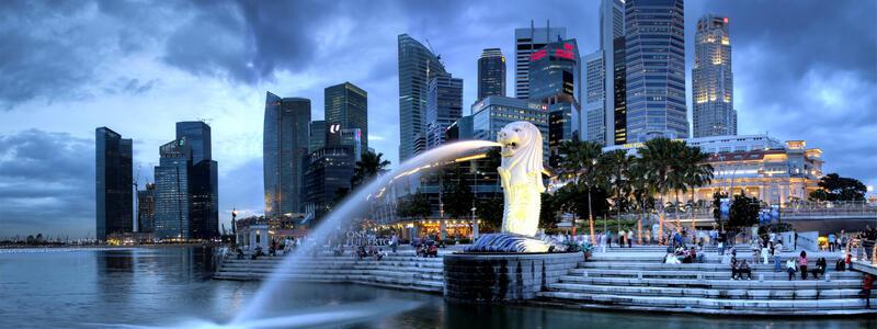 View of Marina Bay Singapore