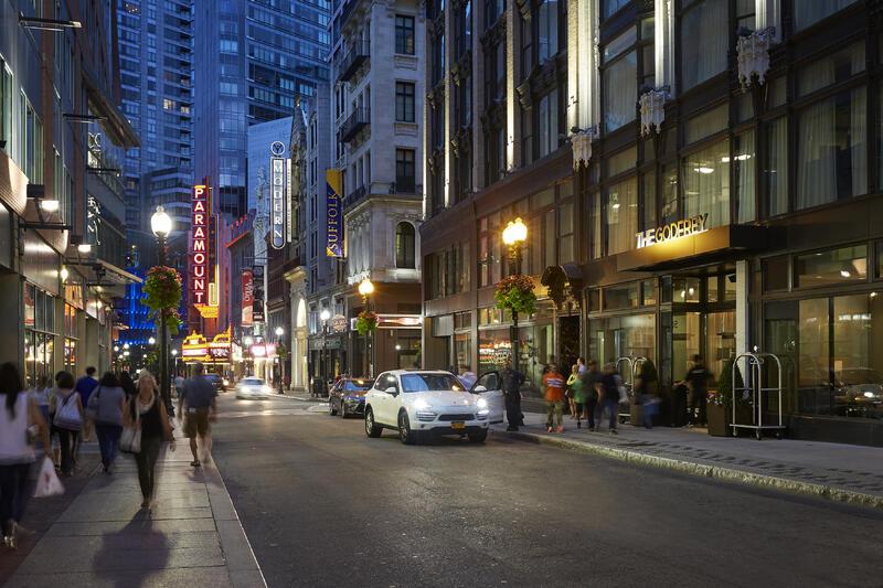 Street view of Godfrey Boston