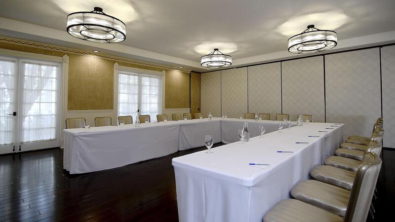 u-shaped board room