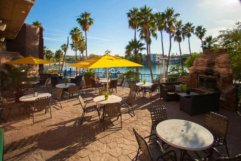 Martini Bay outdoor patio by Lake Havasu.