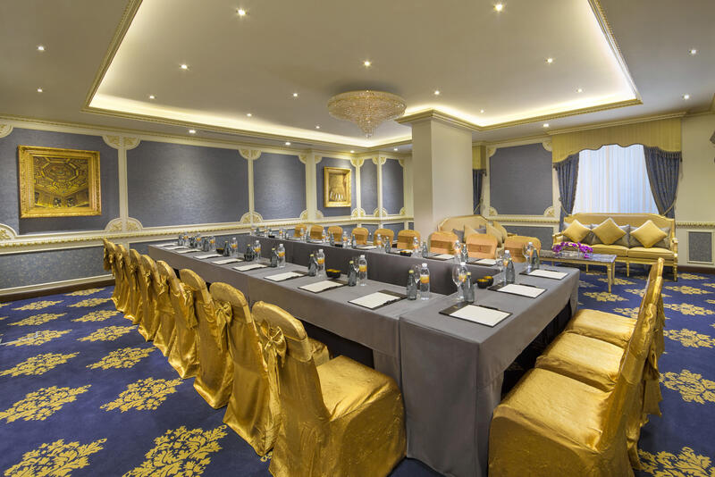 Delma Meeting Room at Royal Rose Hotel in Abu Dhabi, UAE