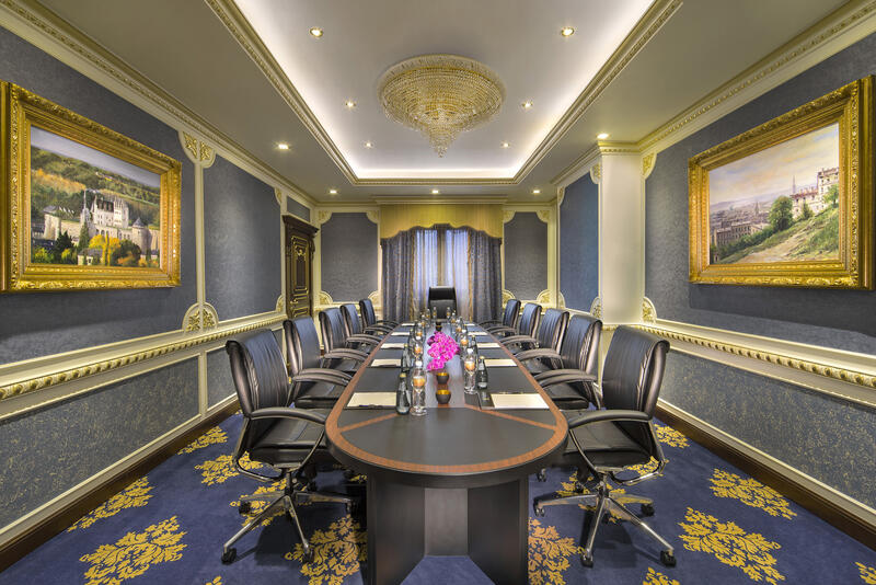 Nakheel Meeting Room at Royal Rose Hotel in Abu Dhabi, UAE