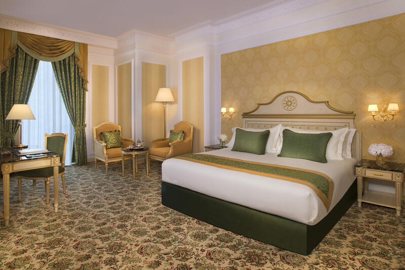 Grand Deluxe Room at Royal Rose Hotel in Abu Dhabi, UAE