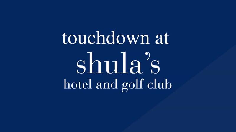 touchdown at shula's hotel and golf club logo