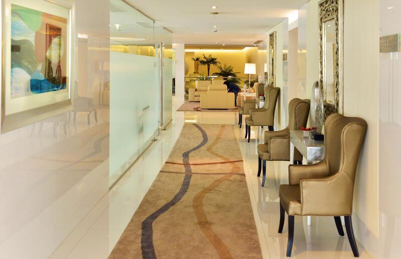 Hall at Hotel Presidente Luanda in Luanda