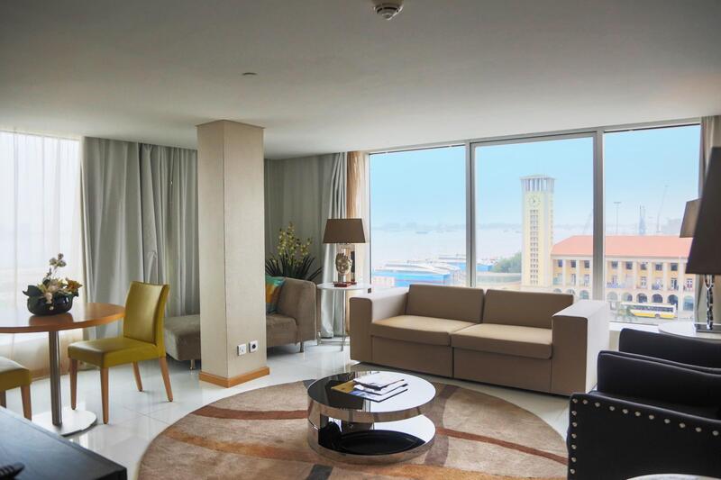 Suite room at Hotel Presidente Luanda